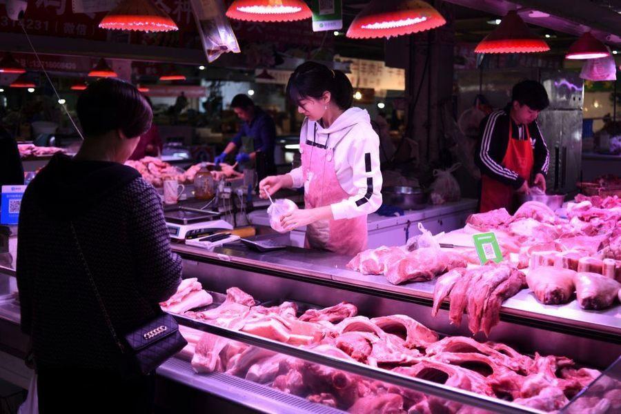中國CPI漲幅因豬肉下降 大宗商品漲價潮向下游蔓延