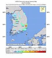 專家:韓史上最強震 源於日本大地震餘威