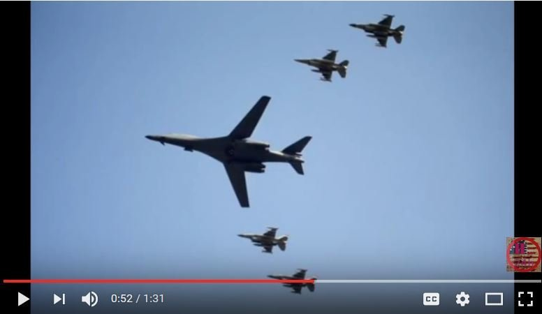 美軍兩轟炸機飛越韓領空 震懾北韓核試挑釁