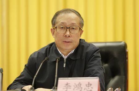 9月13日,中共湖北省委書記李鴻忠被任命為天津市委書記。(網絡圖片)
