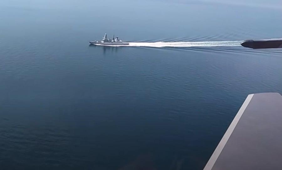 俄國鳴槍警告英驅逐艦侵入海域 英軍方否認