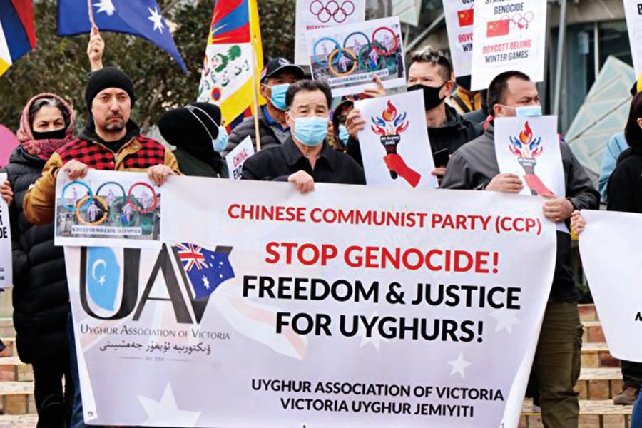 全球五十多城市抵制北京冬奧