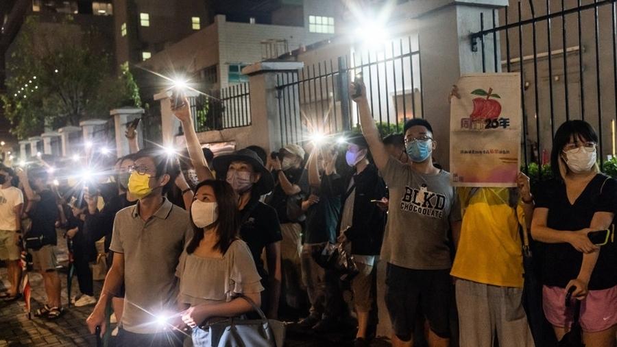 外媒評《蘋果日報》停刊:對香港自由的侵犯