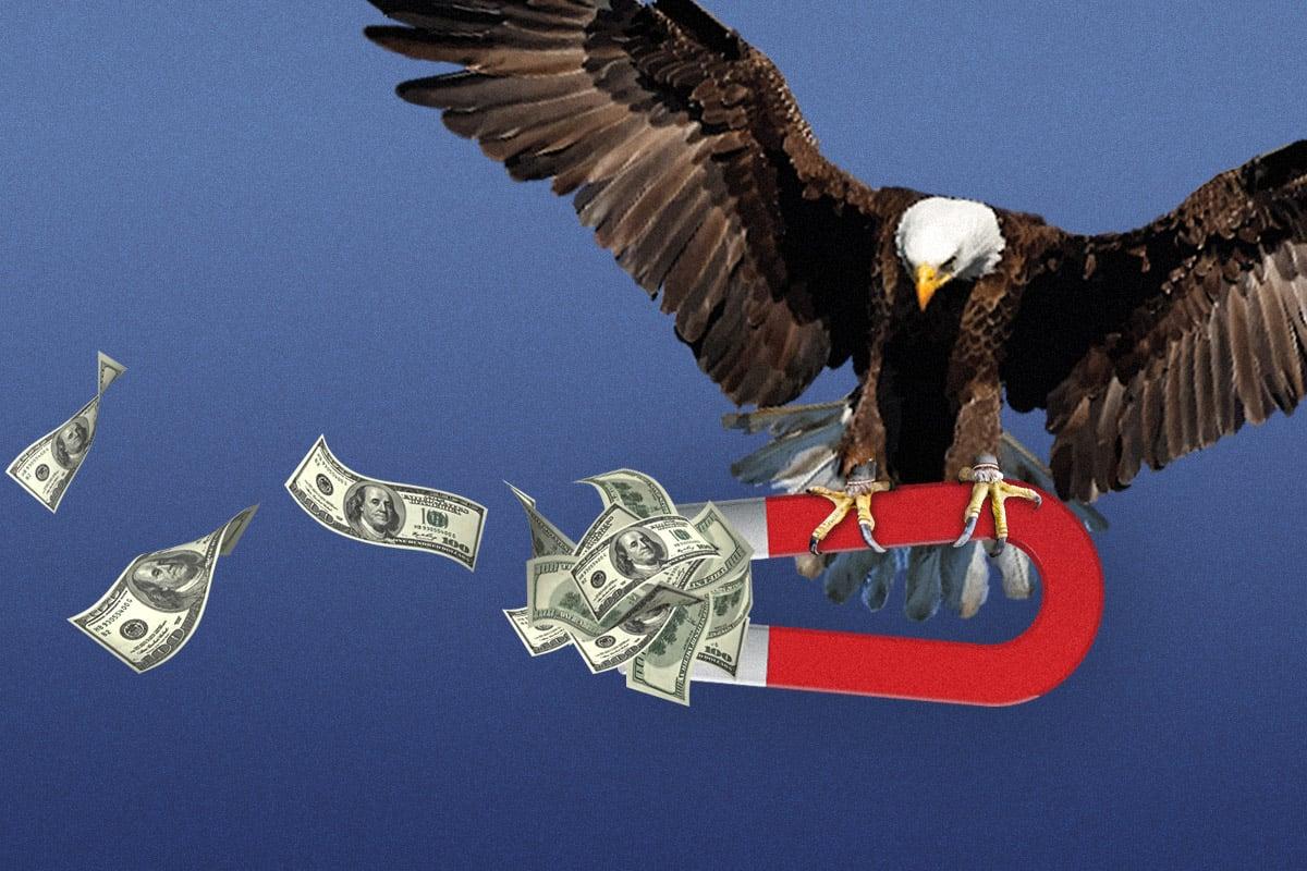 經濟復甦強勁,美聯儲何時加息?(大紀元製圖)