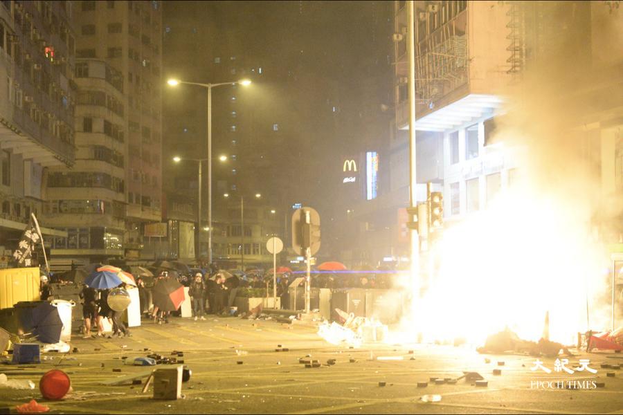 13人被控暴動 包括12港人案郭子麟