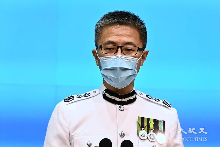 新任一哥蕭澤頤:不排除再拘捕前《蘋果》員工