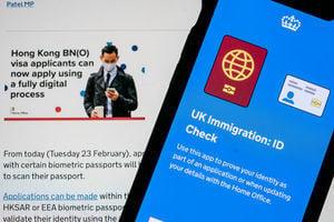 【移民英國】BNO申請網站付款和上傳文件頻出錯