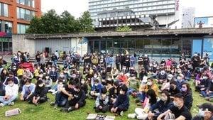 【更新】英國曼城數百人出席撐蘋果集會
