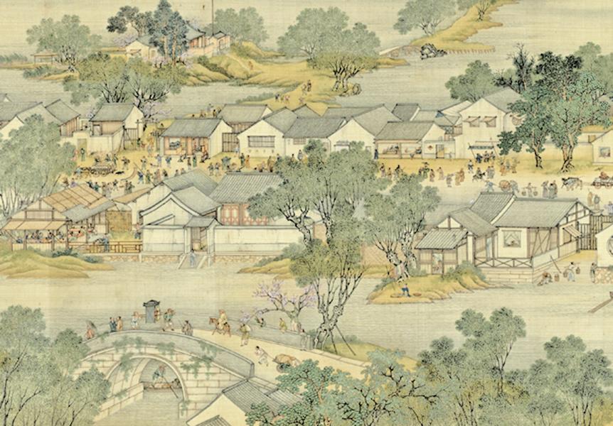 汴河船帆飄揚,回憶千年質樸風光(上)