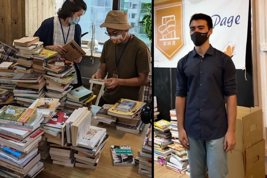 彭艾烈發起「眾囚書」免費送書給在囚者 冀保心靈自由