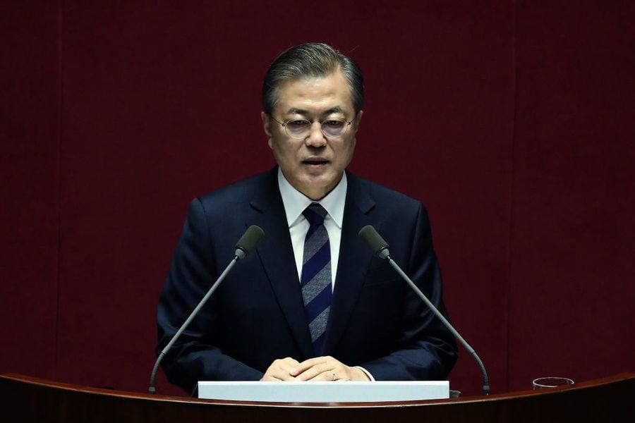 韓國大選七月開跑 形勢對親共的文在寅執政黨不利
