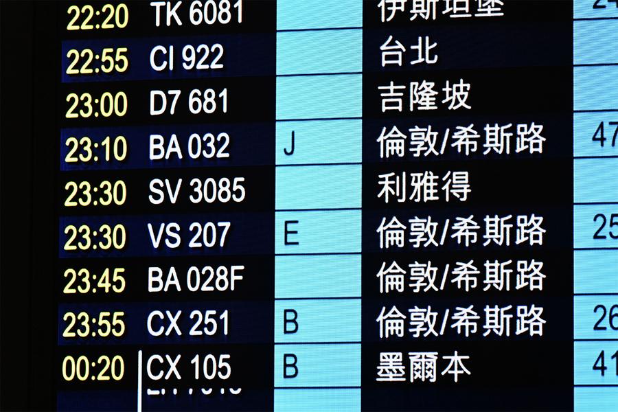 7.1起英國民航客機禁來港