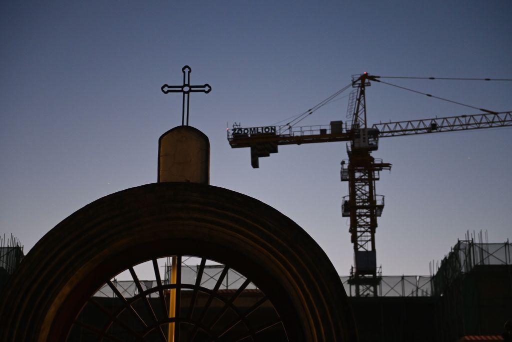 無神論的中共壓制各宗教和信仰團體。《大紀元》近日所獲得的內部文件,披露了中共在打壓中國人信仰的同時,也一直在變異宗教內涵。(GREG BAKER/AFP via Getty Images)