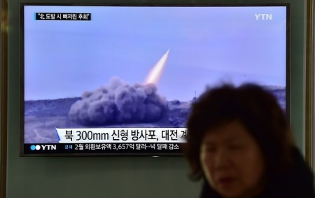 北韓9日進行第5次、也是最大一次核試驗之後,朝鮮半島緊張全面升級。美韓兩國情報部門評估認為,北韓還準備進行新的核試。(AFP)