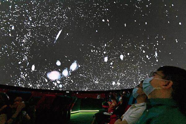 太空館天象廳七一重開