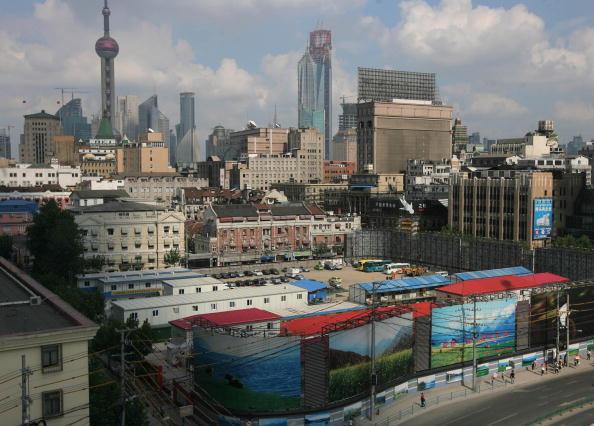 9月14日上海人大常委會任免一批官員,其中應勇為上海市副市長。圖為上海市一景。(China Photos/Getty Images)