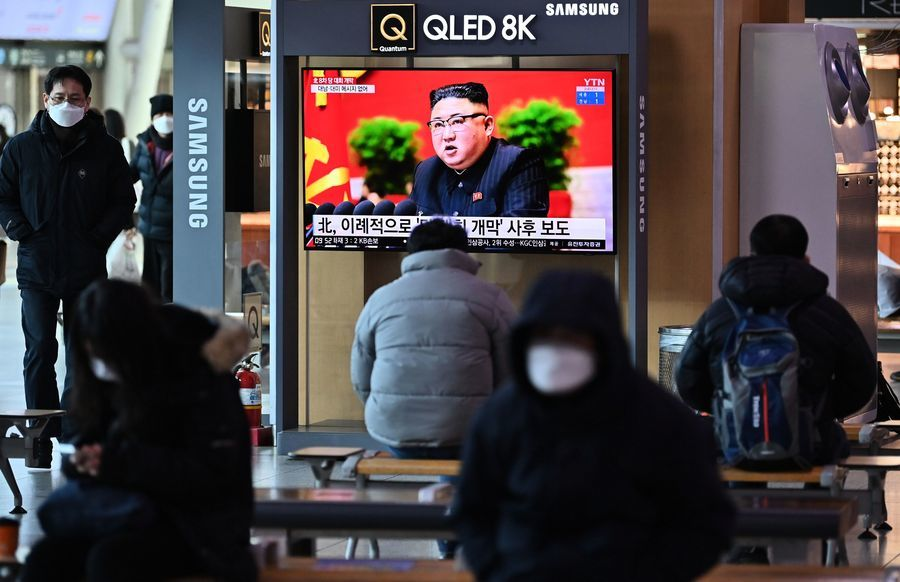 金正恩首次承認北韓有疫情
