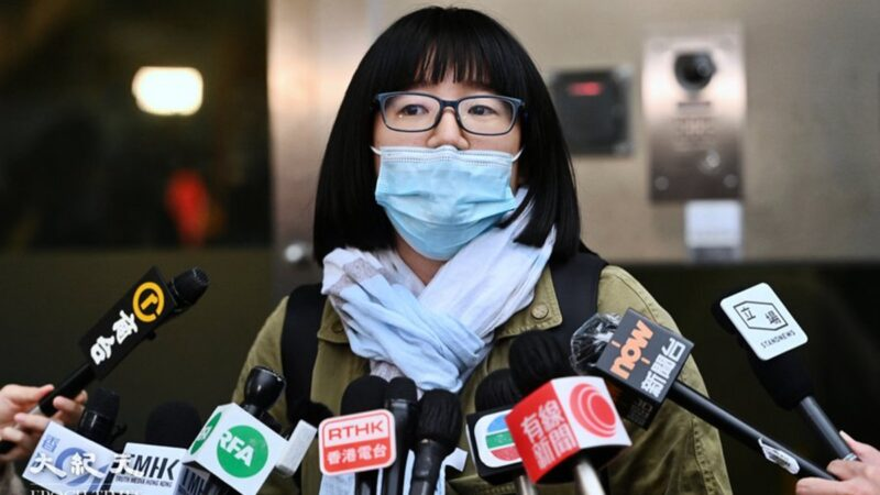 鄒幸彤再被捕後寄語港人:抓我一個堵不住眾人的口 香港人嚇不退