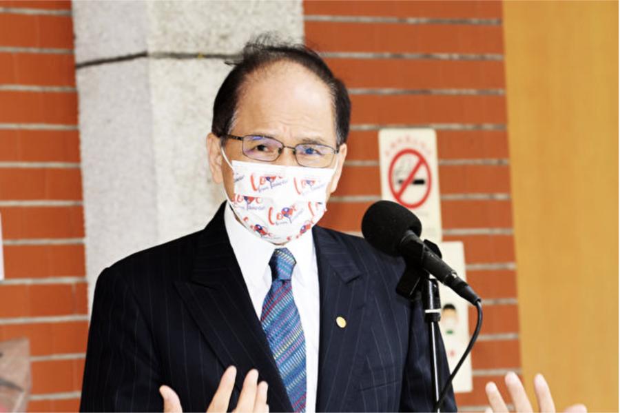 游錫堃:香港不幸遭遇是對全世界的警示