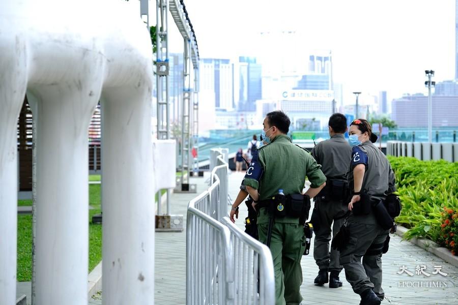 七一嚴防   逾萬警力戒備森嚴 街站被警告從「阻街」升級到「煽動仇恨」