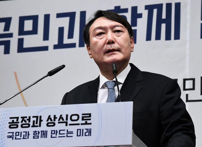 韓國前檢察總長宣佈競選總統 誓言政權交替