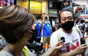 七一嚴防|警方銅鑼灣舉黃旗 「老鱷」Fashion Walk 商場被罰款5,000元