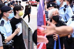 七一嚴防|警方今拘19人 包括王婆婆和賢學思政王逸戰、黃沅琳