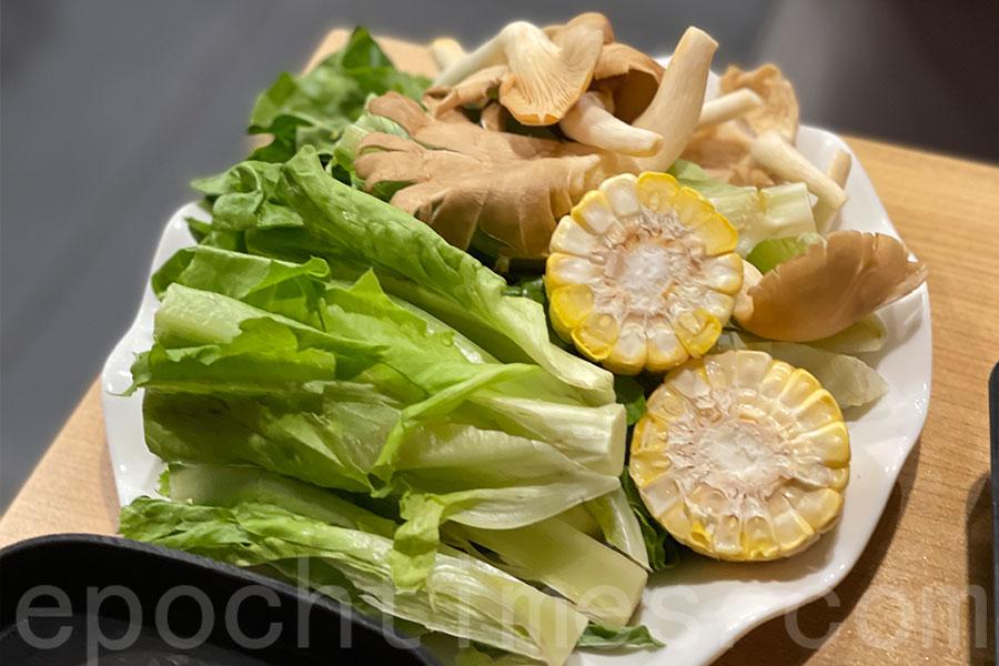 蔬菜食材。(Siu Shan提供)