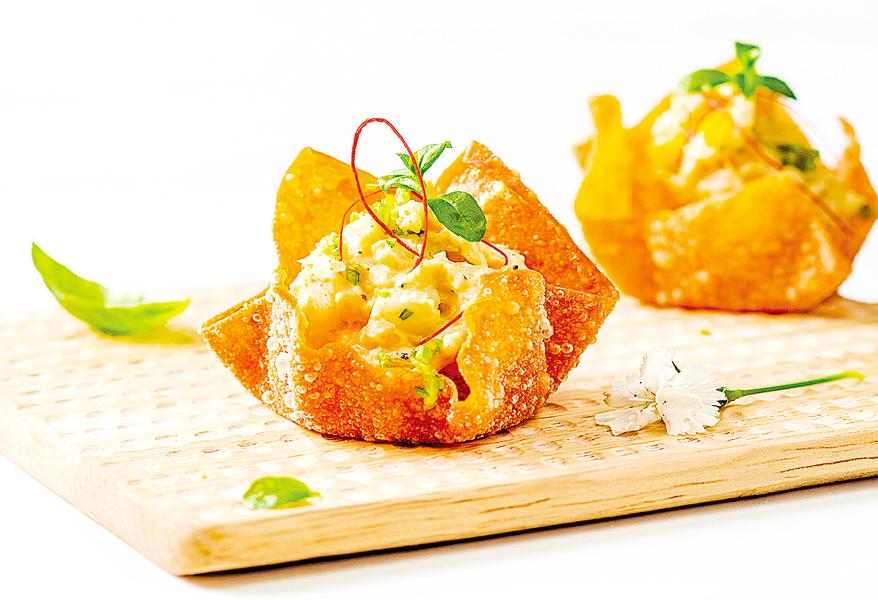 蔬食料理 南洋鷹嘴豆塔