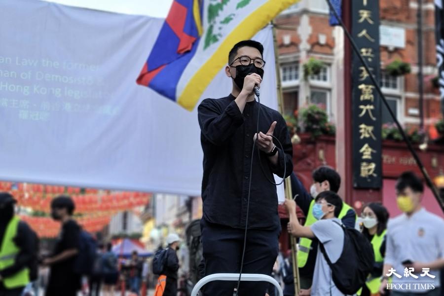 羅冠聰:對抗中共是這個時代的抗爭