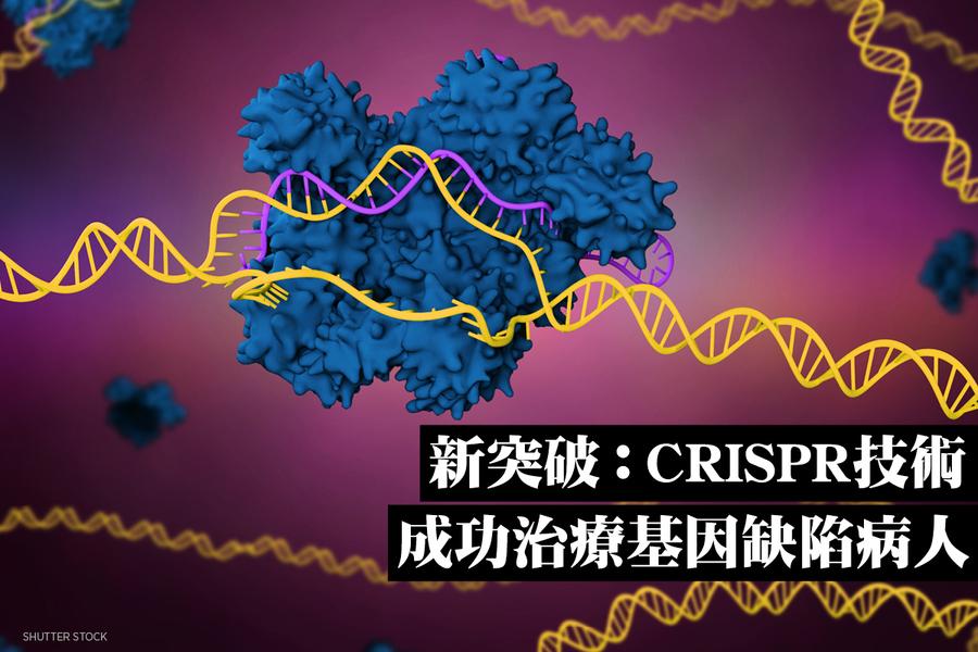 新突破:CRISPR技術成功治療基因缺陷病人