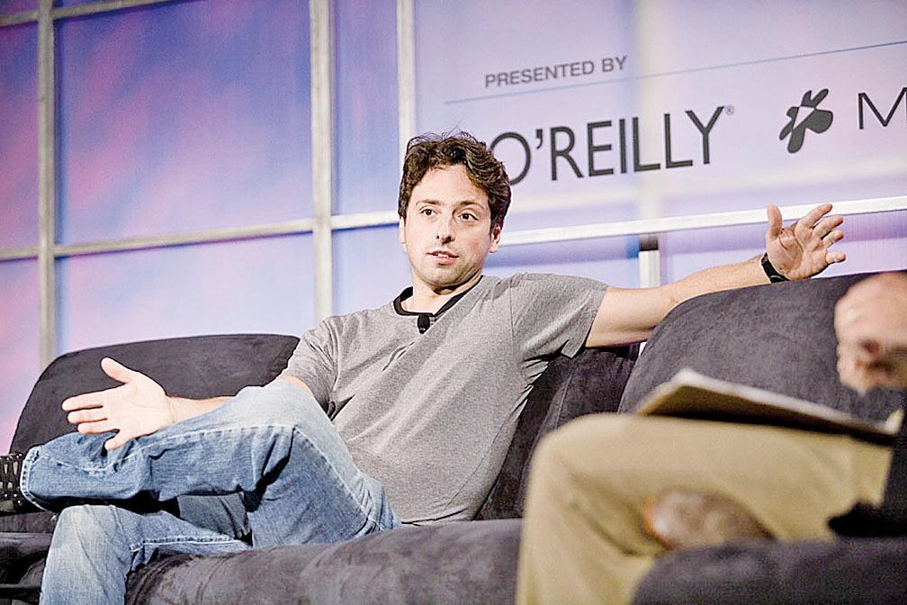 美國支持移民者以來自俄羅斯的谷歌創辦人布林(如圖)為例說明移民在美創業創造很多的就業機會。(維基百科)