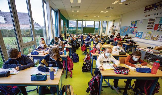 最新研究:二氧化碳含量高 不應強迫兒童戴口罩