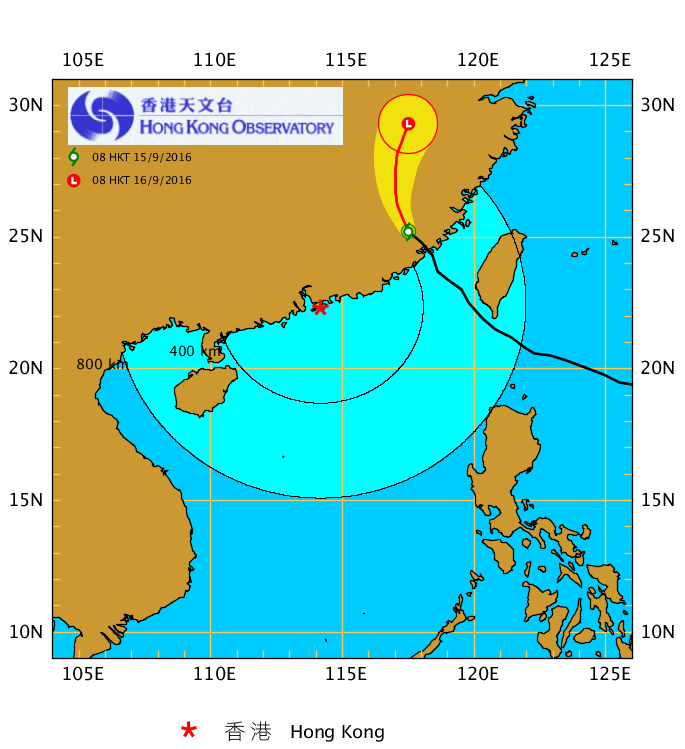 莫蘭蒂登陸福建 天文台取消所有熱帶氣旋信號