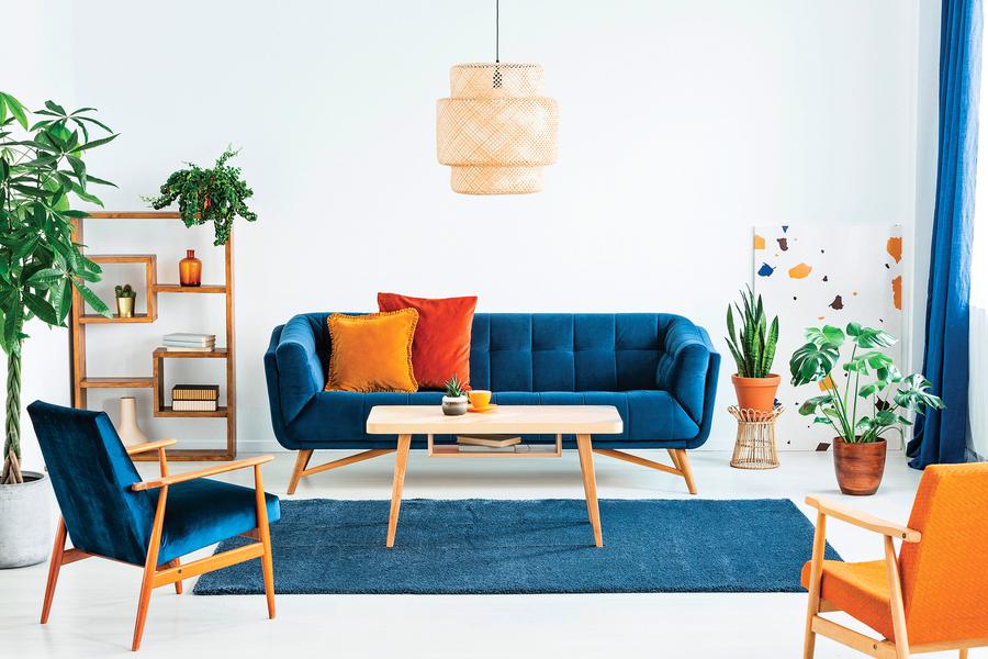 設計室內色調經典藍的配色方法