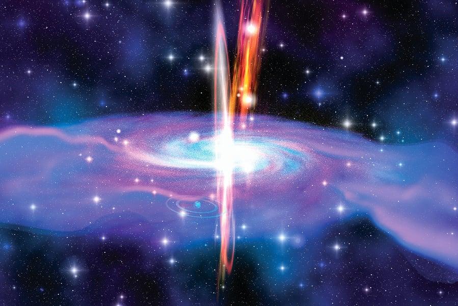 爆炸噴發物攪亂磁場 伽馬射線爆謎團獲解