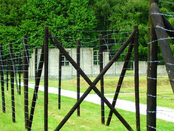 現時軍營的重建部份,是1944年8月至9月,安妮與姐姐被送到的韋斯特博克集中營。( 公共領域 )