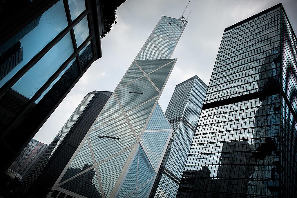 戴德梁行(Cushman & Wakefield)今(7月7日)發表香港寫字樓、商舖租賃市場第二季表現報告。(PHILIPPE LOPEZ/AFP/GettyImages)
