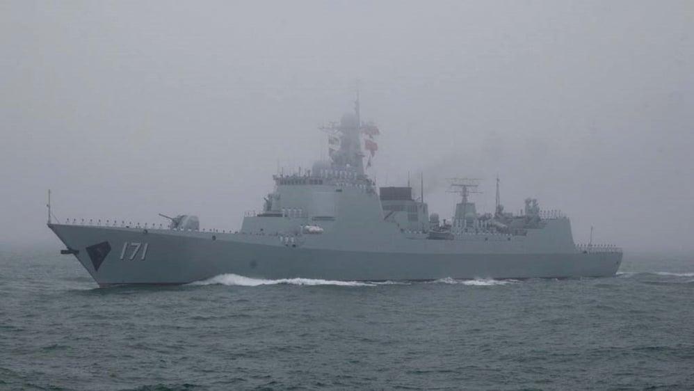 黃海軍演疑生變 中共「重大軍事活動」公告撤銷