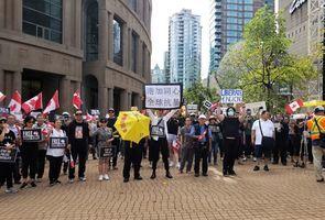 因撐香港遭死亡威脅 加拿大港人組織譴責暴力恐嚇