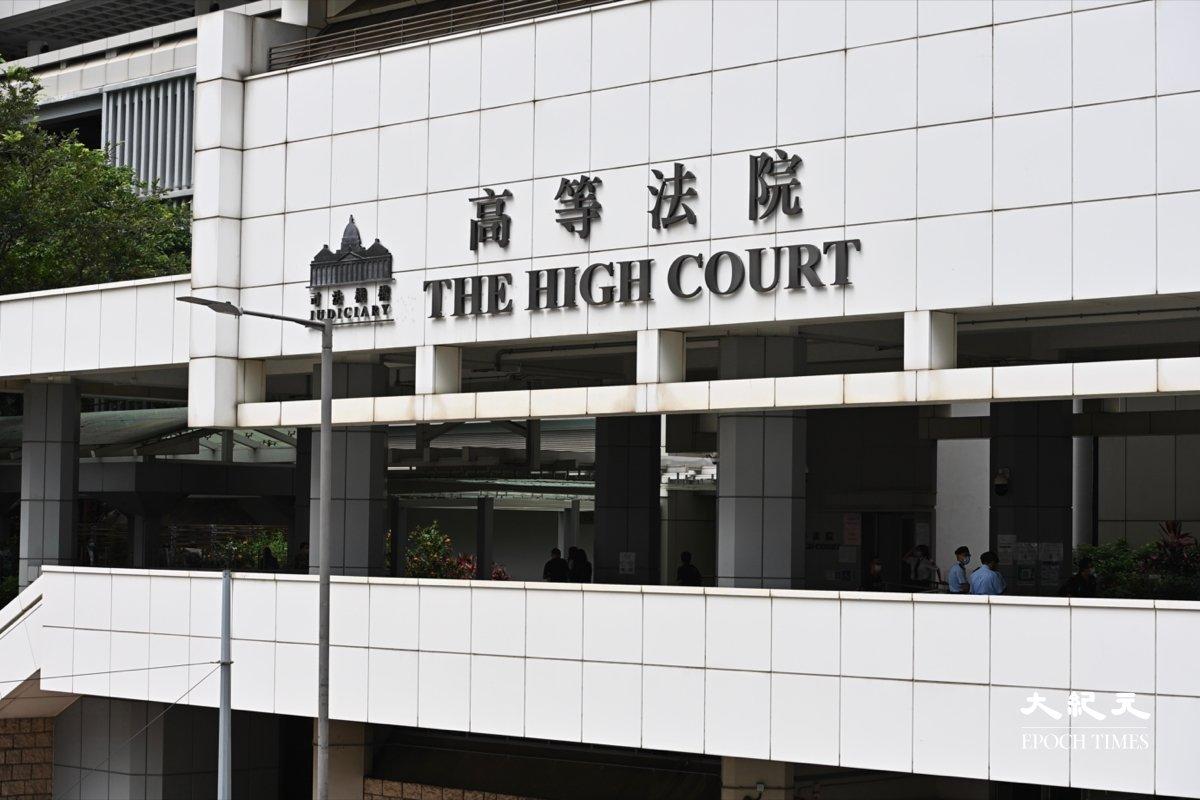 首名「港版國安法」被告唐英傑案件審訊踏入第九日,辯方稱被告有刻意迴避警員,並非有意進行恐怖活動。(宋碧龍/大紀元)