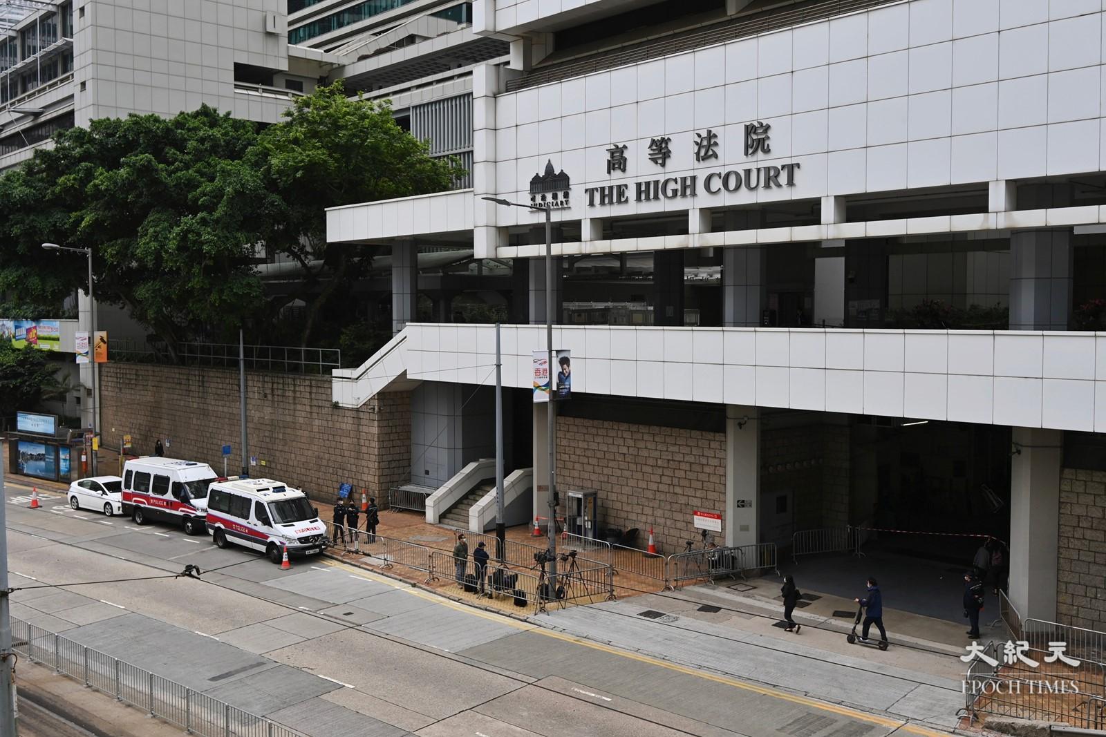 法官今裁定唐英傑3罪表證成立。(宋碧龍/大紀元)