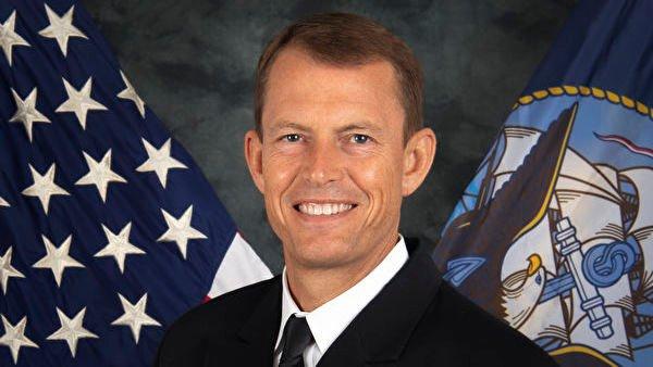 圖為美國海軍印太情報總指揮官史達曼(Michael Studeman)少將。(圖片來源:美海軍官網)
