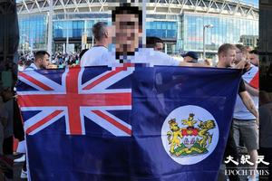 【即時】歐國盃|數萬球迷聚溫布萊在英港人入場支持 門票逾千英鎊(多圖)
