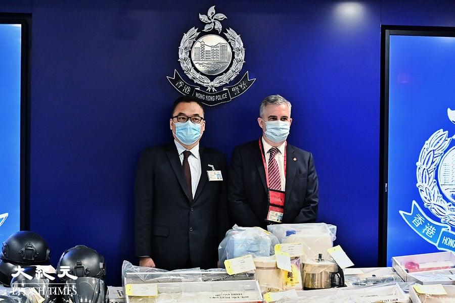 「光城者」炸彈案又5人被捕 一男性疑似金主