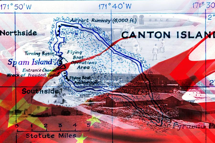 【時事軍事】中共部署控制太平洋坎頓島 企圖監視美軍