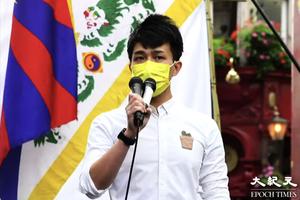 劉祖廸出席《半島電視台》節目 舌戰中共海外「大外宣」