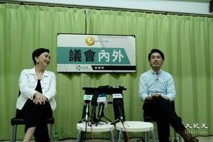 羅健熙表示雖辭任區議員 仍會繼續服務社區