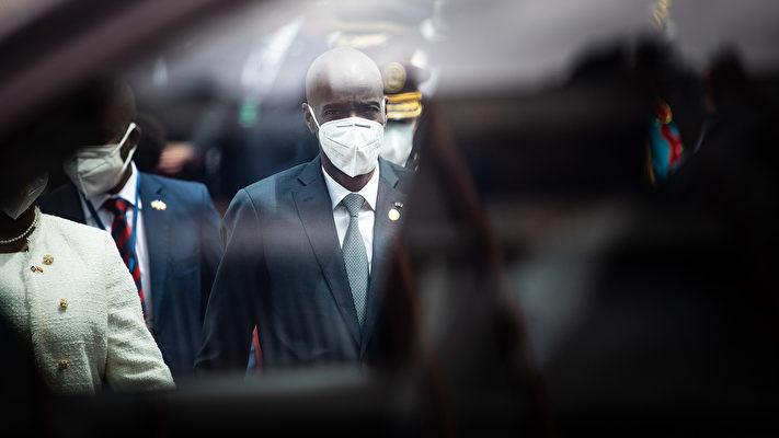 海地總統莫伊茲被刺殺身亡。涉嫌刺殺案一主謀浮出水面。尚有不能謀合的疑點被指出,案重重疑點未解。莫伊茲生前多次拒絕中共,包括免息鉅額貸款。(Johis Alarcon/Bloomberg via Getty Images)