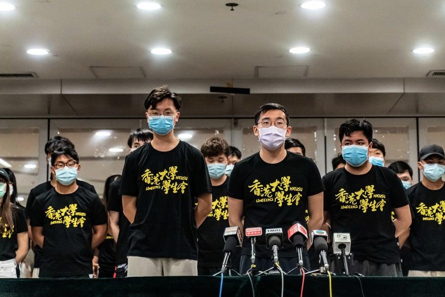 港大宣佈不再承認學生會 林鄭早上曾籲行動